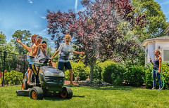 Helping With The Yardwork (Mark ~ JerseyStyle Photography) Tags: markkrajnak jerseystylephotography fathersday2019 portrait june2019 2019