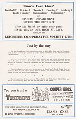 Leicester City vs Preston North End - 1955 - Page 10 (The Sky Strikers) Tags: leicester city preston north end pne football league division one official programme 4d