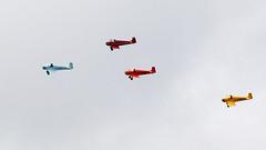 Turbulent Display Team (Bernie Condon) Tags: tiger club turbulentdisplayteam turbulent display d31 turbs formation aircraft plane team