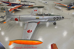 KAWASAKI (Lockheed) T-33A 61-5221 JASDF (shanairpic) Tags: military jetfighter museum preserved jasdf gifu