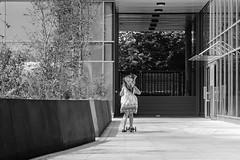 IMG_1150443 (Kathi Huidobro) Tags: carefree blackwhite bw monochrome urban urbanscene playground apartments newbuild architecture london playtime candid child'splay