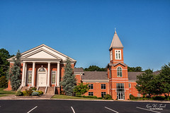 Dandridge First Baptist Church (Back Road Photography (Kevin W. Jerrell)) Tags: churches jeffersoncounty dandridge tennessee christianity faith nikond7200 sigmalens baptist