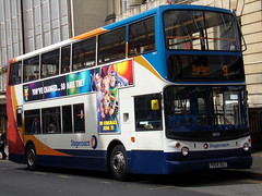 Stagecoach TransBus Trident (TransBus ALX400) 18149 PX04 DOJ (Alex S. Transport Photography) Tags: bus outdoor road vehicle stagecoach stagecoachmidlandred stagecoachmidlands alx400 alexanderalx400 dennistrident trident transbustrident transbusalx400 route9 18149 px04doj
