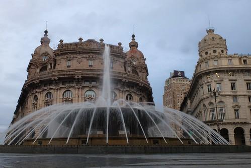 Piazza de Ferrari Fountain, Genoa (IT)