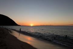 IMG_9090 (PyL06) Tags: deshaies antilles caraïbes guadeloupe gwada basseterre coucher de soleil sunset horizon sea beach mer plage