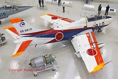 FUJI T-1B 05-5810 JASDF special marks (shanairpic) Tags: military jetfighter museum preserved jasdf gifu fujit1b 055810