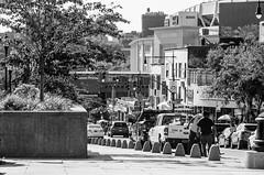 161st Street Bronx (Edgar.Omar) Tags: soligor soligor10528 m39 city urban street nyc bronx black white monochrome pentax k50