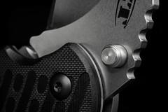 Knife. Jupiter-12 macro 1:2 (oldTor) Tags: юпитер12 jupiter12 sovietlens vintagelens knife zt edc oldtor macro macrophotography monochrome советскиеобъективы монохром мануальныеобъективы макрофото макро нож bwartaward