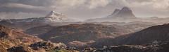 Assynt Panorama (stevemillington.co.uk) Tags: assyntandullapool sluiven scotland landscapes panoramic panorama mountains mountainscape xt2 fujinon