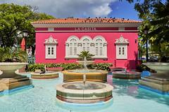 La Casita Rosada (guillecabrera) Tags: old architecture colonial spanish oldsanjuan historic fountain water vieja arquitectura puertorico bright sony a7iii tamron 2875mmf28e colorful brillante rosado pink
