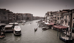 The Grand Canal (Jeff Damron) Tags: italy rialto