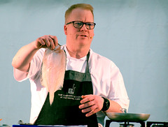 A demonstration from Head Tutor, Andrew Dixon of the The Cookery School at The Grand York - 10 (Tony Worrall) Tags: thecookeryschoolatthegrand cookeryschool thegrand thegrandyork demo stage event annual yorkfoodfestival2019 york food festival 2019 headtutor cook cookery chef make cooked display man north update place location uk england visit area attraction open stream tour country item greatbritain britain english british gb capture buy stock sell sale outside outdoors caught photo shoot shot picture captured ilobsterit instragram