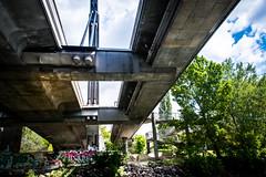 River bank (Maria Eklind) Tags: doanu bridge fredsbron river austria friedensbrücke kanal vienna schwedenplatz riverbank rossauerlände wien gemeindebezirkinnerestadt österrike