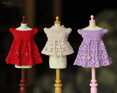 #134 (Ulanna) Tags: blythe knitting handmade outfit clothes sweater cardigan pullover jersey jacket crochet blouse lace