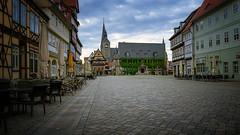 Quedlinburg Altstadt (Lutz.L) Tags: stadt altstadt marktplatz sachsenanhalt harz quedlinburg