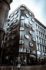 Streets of Vienna (Maria Eklind) Tags: hotell city austria hoteltopazz vienna schwedenplatz wien gemeindebezirkinnerestadt österrike