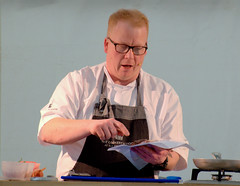 A demonstration from Head Tutor, Andrew Dixon of the The Cookery School at The Grand York - 7 (Tony Worrall) Tags: thecookeryschoolatthegrand cookeryschool thegrand thegrandyork demo stage event annual yorkfoodfestival2019 york food festival 2019 headtutor cook cookery chef make cooked display man north update place location uk england visit area attraction open stream tour country item greatbritain britain english british gb capture buy stock sell sale outside outdoors caught photo shoot shot picture captured ilobsterit instragram