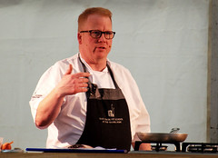 A demonstration from Head Tutor, Andrew Dixon of the The Cookery School at The Grand York - 5 (Tony Worrall) Tags: thecookeryschoolatthegrand cookeryschool thegrand thegrandyork demo stage event annual yorkfoodfestival2019 york food festival 2019 headtutor cook cookery chef make cooked display man north update place location uk england visit area attraction open stream tour country item greatbritain britain english british gb capture buy stock sell sale outside outdoors caught photo shoot shot picture captured ilobsterit instragram