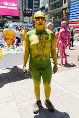 Protest against divisiveness -0248 (clickchick888) Tags: naked human connection arts nyc times square fun happy outside bodypainting protest against divisiveness hca andy golub purpose our existence positive message cool crazy newyorkcity timessquare humanartsconnection humanconnectionarts sunny bodypaint