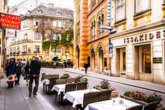 streets of Vienna (Maria Eklind) Tags: austria city schwedenplatz vienna wien gemeindebezirkinnerestadt österrike
