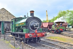 2019 Legends of Industry Gala (Matt Ditch Photography) Tags: legends industry gala tanfield railway industrial north east county durham heritage preserved port talbot docks company works number 555 1900 hudswell clarke great western 813 backworth collieries no 12 seaham harbour dock no18 lewin stephen 040st