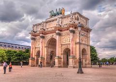 Arc de Triomphe du Carrousel (Somak..) Tags: 1224mm tokina d300s nikon somak roy somakphotography europe france paris place de la concorde arcdetriompheducarrousel quadriga napoleon arcdetriomphe