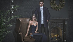 *A real man gives his lady the attention she deserves, gives her all of his love, calls her beautiful and treats her like a queen (and this goes both ways)* ❤️ (Ⓐⓝⓖⓔⓛ (Angeleyes Roxley)) Tags: ardent poses looking out for you couple bento sl secondlife on9 event mainstore avatar black bantam chocolate space kitty collabor88 animal bow helmet