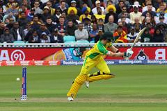 Gone! (Treflyn) Tags: gone trademark yorker lasith malinga disturbs steve smith off stump icc mens cricket world cup 2019 match between sri lanka aus australia theoval oval odi one day dayer international