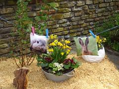 decoracion conejo en mesa de paja Clervaux Luxemburgo 01 (Rafael Gomez - http://micamara.es) Tags: decoracion conejo en mesa de paja clervaux luxemburgo