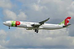 CS-TOC (afellows80) Tags: airbus a340 a343 tap portugal egll lhr heathrow cstoc