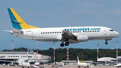 Tayaran Jet Boeing 737-300 LZ-TYR | Milano - Malpensa (MXP-LIMC) | 31st May 2019 (Brando Magnani) Tags: