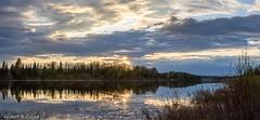 Exutoire du lac Rémigny - Lake Rémigny Outlet (Gilbert Rolland) Tags: paysage coucher de soleil sunset rémigny témiscamingue