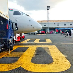 Welcome to NBO! (Wayan Vota) Tags: nairobi airport nbo arrival kenya airplane nosecone