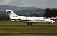 SP-TAT (ianossy) Tags: raytheon aircraft co 400a beechjet 400xp be40 sptat gla egpf