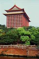 Grand hotel (ross.mccarry) Tags: taipei taiwan fuji 35mm film velvia kodak ektar asia nikon voigtlander 58mm