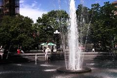 SaturdayInThePark (Street Witness) Tags: cityscape washington square park new york city 28mmcanonfdmountmanualfocuslens 15cropfactor42mmlens