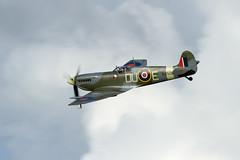 Supermarine Spitfire MkVc (Paul Braham Photography) Tags: aeroplane airplane aircraft warbird oldwarden shuttleworth gloster supermarine hawker percival airshow airshows evening