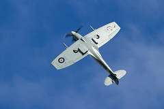 Supermarine Spitfire Mk Vc (Paul Braham Photography) Tags: aeroplane airplane aircraft warbird oldwarden shuttleworth gloster supermarine hawker percival airshow airshows evening