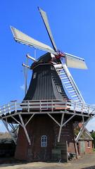 Molen Windlust in Overschild (willi.kampf) Tags: stellingmolen achtkantemolen korenmolen overschild middengroningen windmill windmühle windmolen nederlande niederlande