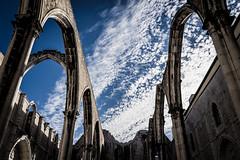 Convento do Carmo (Angela Trabert) Tags: portugal lissabon tamron2875 sonyalpha7iii 20190608 blue sky nature clouds outdoor conventodocarmo