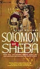 Bantam Books A1958 - Jay Williams - Solomon and Sheba (swallace99) Tags: bantam vintage 50s movietiein paperback stanleyzuckerberg yulbrynner ginalollobrigida