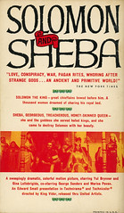 Bantam Books A1958 - Jay Williams - Solomon and Sheba (back) (swallace99) Tags: bantam vintage 50s movietiein paperback