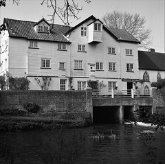Ellingham mill in Suffolk, Thomas & Jackson Mill (palmoid) Tags: ellingham mill suffolk ilford panf50 film photography analogue ilfordddx hasselblad503cx filmphotography blackandwhitephotography