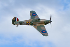 Hawker Hurricane (Paul Braham Photography) Tags: aeroplane airplane aircraft warbird oldwarden shuttleworth gloster supermarine hawker percival airshow airshows evening