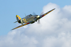 Hawker Sea Hurricane (Paul Braham Photography) Tags: airplane aircraft aeroplane shuttleworth warbird gloster oldwarden evening airshow hawker airshows percival supermarine