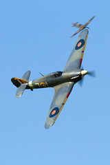 Hawker Hurricanes (Paul Braham Photography) Tags: aeroplane airplane aircraft warbird oldwarden shuttleworth gloster supermarine hawker percival airshow airshows evening