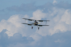 Gloster Gladiator (Paul Braham Photography) Tags: aeroplane airplane aircraft warbird oldwarden shuttleworth gloster supermarine hawker percival airshow airshows evening