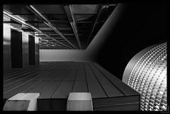 view bottom-up (MAICN) Tags: lines dortmund architektur building mono linien sw bw blackwhite monochrome geometrisch schwarzweis architecture bottomup einfarbig 2019 geometry gebäude