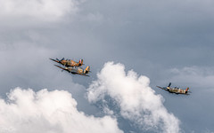 Merlin Magic... (Dan Elms Photography) Tags: spitfire hurricane seahurricane shuttleworth theshuttleworthcollection oldwarden canon danelms danelmsphotography wwwdanelmsphotouk merlin rollsroyce magical clouds cloud