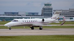 Zenith Aircraft Ltd Learjet 75 G-ZNTH (stephenjones6) Tags: jet aircraft airport aviation bizjet biz learjet 75 gznth manchester man egcc ringway corporate private nikon d3200 sn 45540
